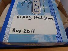 Ladies/Womens Pavers Navy Blue Smart Shoes Size UK 7 EU 40 Floral Design