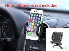 Black Car Air Condition Vent Holder Phone GPS PDA Mount For iPhone 6 6s 7 Plus