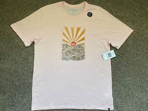 $30 BRAND NEW HURLEY NIKE DRI FIT MENS TEE T SHIRT INTERVAL DF PINK LARGE L