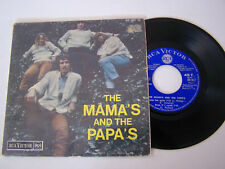 EP 4 TITRES VINYL 45 T, THE MAMA 'S AND THE PAPA 'S . I SAW HER AGAIN . VG+ / EX