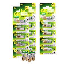 20 pcs A27 12V 27A Batterie MN27 GP27A E27A EL812