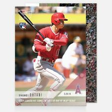 2018 Topps Now ~ Card #5 ~ Shohei Ohtani (Rookie Card) ~ 1st Hit