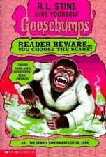 NEW! Goosebumps: The Deadly Experiments of Dr. Eeek 4 by R. L. Stine...