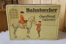 Alte Blechdose Engelhardt * Zigarettendose BAHNBRECHER * 100 Cigaretten old tin