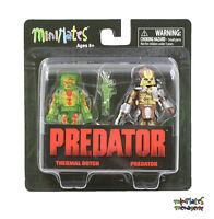 Predator Minimates Series 3 Thermal Dutch & Predator