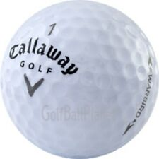 100 AAAA Near Mint Callaway Grey Warbird Used Golf Balls 8+ Dozen