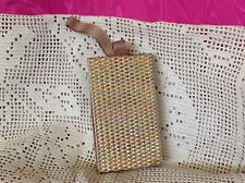 Vintage Gold Finished Small Hand Bag/Compact Purse