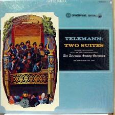 Richard Schulze - Telemann Two Suites LP VG+ CPST 5620 Everest Stereo USA Rare