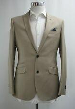 Neues AngebotHerren UNBRANDED beige 2pc Anzug (38r)... ref: 6871