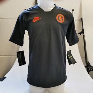Nike FC Chelsea Trikot Fußballtrikot Training AO6493-060 Kinder Unisex Gr. S