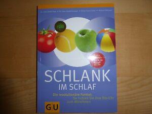 Schlank im Schlaf. GU Gesundheit von Detlef Pape, Helmut Gillessen und Rudolf...