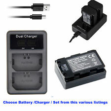 7.2V NP-FZ100 Z-series Li-on Rechargeable Battery (2280mAh)  Or Charger for SONY