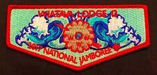 OA LODGE WIATAVA 13 ORANGE COUNTY CA AZ 2017 BSA JAMBOREE DELEGATE FLAP 100 MADE