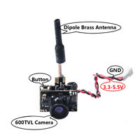 AKK BA3 40CH 0/25mW/50mW/200mW Switchable Micro AIO FPV Camera