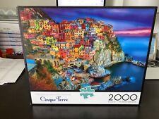 Buffalo 2000 piece puzzle Cinque Terre