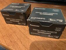 Panasonic AY-DCM83PQ MINI DV CASSETTE TAPE Qty.5