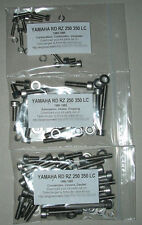 YAMAHA RD RZ 350 LC 1980-1995 Kit n°1 vis BTR inox moteur RD350 RD350LC RDLC