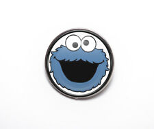 Cool Cookie Monster 25mm Pin Badge