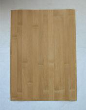 "Bamboo Veneer 1/40"" Thick x 10-3/4"" Wide 11"" Long Thin Backed Craft Inlay Wood"