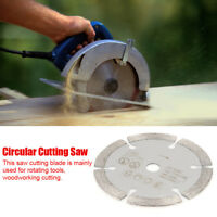 85mm x 10mm Diamond Circular Cut Saw Woodworking Rotary Tool Cutting Disc New