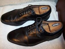 Footjoy Icon 12M Shield Tip Black Calfskin Leather Golf Shoes 52271