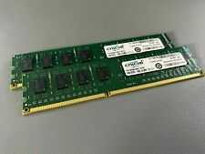 Crucial 8GB(2x4GB) UDIMM Desktop Memory DDR3L-1600 PC3-12800 240-Pin
