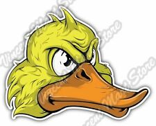 "Duckling Duck Funny Face Cartoon Bird Geese Car Bumper Vinyl Sticker Decal 5""X4"""
