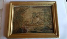 Early 19th Century Framed Embroidered Picture