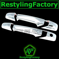 07-14 Chevy Silverado 2500+3500+HD Truck Chrome 2 Door Handle no PSG KH Cover