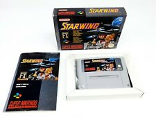 Super Nintendo Starwing FAH Complete SNES