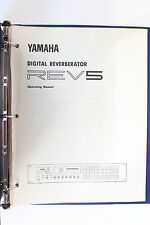 Original Yamaha Rev-5 Owner's Manual REV5 #1