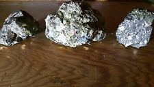 MINERAL SAMPLE COLLECTION: RAW PYRITE AND GALENA?