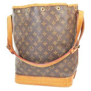 Authentic LOUIS VUITTON Noe Monogram Shoulder Tote Bag Purse #39074
