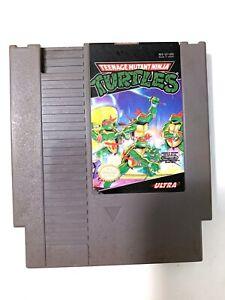 *Ninja Turtles TMNT - Original Nintendo NES Game - Tested + Working & Authentic!