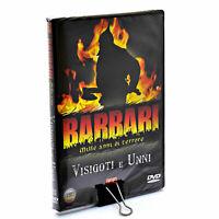 BARBARI MILLE ANNI DI TERRORE - VISIGOTI E UNNI - DVD nuovo