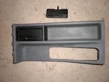 BMW E36 3-series sedan front console grey OEM #8151688 & ashtray