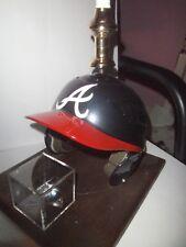 Atlanta Braves Batting Helmet *LAMP* w/ Baseball Holder-No Shade-**Super Nice**