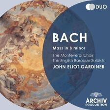MONTEVERDI CHOIR GARDINER BACH MASS IN B MINOR CD CLASSICAL 2012 NEW