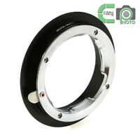 LM-EOS Adapter Ring  for Leica M Mount Lens to Canon EOS Camera 7D 5DII 60D 600D