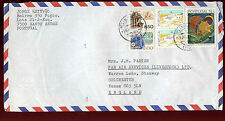 Portugal 1987 Commercial Airmail Cover To UK #C33717