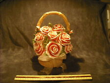 """Basket Of Roses """"You Light Up My Life"""" Music Box"""