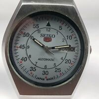 Vintage Seiko Automatic Movement Day, Date Dial Mens Analog Wrist Watch AC458
