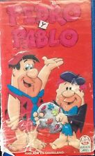 PEDRO Y PABLO VHS/PAL HABLADA EN CASTELLANO/FLINTSTONES IN SPANISH CARTOON USED