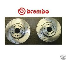 LEXUS IS200 IS300 LS400 SC430 GS300 FRONT BRAKE DISC CROSS DRILLED BREMBO PAIR