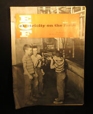 Electricity On The Farm May 1961 Magazine Booklet 41 pages