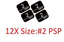 12 Pack Size #2 Scanner Apixia Type X-Ray Phosphor Plates PSP FDA Approved
