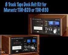 Belt Kit for Marantz TDR-820 or TDR-830  8 Track Tape Deck Player Recorder