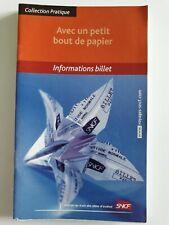Sncf  informations billets 2007
