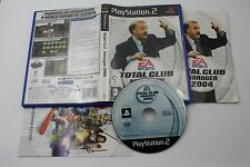 PLAY STATION 2 PS2 TOTAL CLUB MANAGER 2004 COMPLETO PAL ESPAÑA