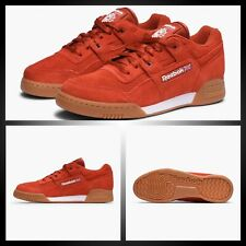 Reebok Workout Plus EG Mens Trainers Burnt Amber/White/Gum